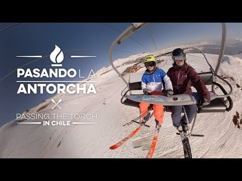 Passing the Torch 360 - US Olympic Ski Team Hannah Kearney and Keaton McCargo