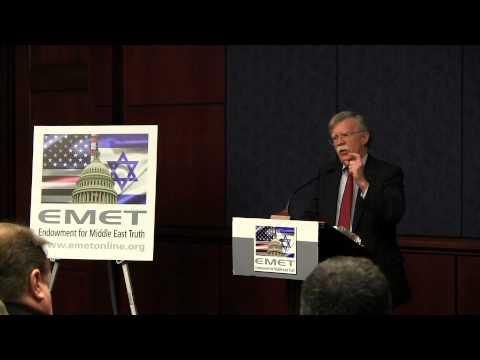 EMET hosts Amb. John Bolton: