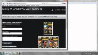 How to hack fifa 12 ultimate team