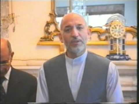 Karzai meets Afghan Turkish Students  - Karzai Afgan Turk Ogrencilerini Takdir etti