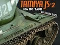Tamiya JS-2 1/16 RC Tank Build Series Video 2