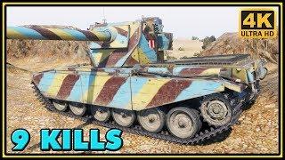 FV4004 Conway - 9 Kills - 8,1K Damage - World of Tanks Gameplay - 4K Ultra HD Video