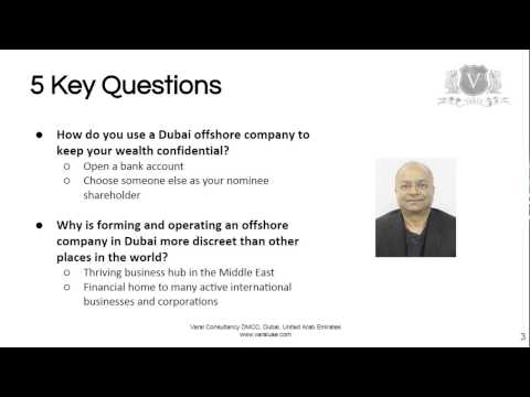 Offshore Company Formation Dubai | 5 Key Questions