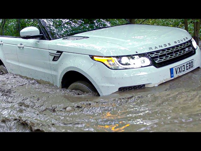 2014 Range Rover Sport OFFROAD - YouTube
