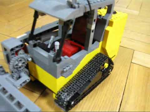 Lego JCB 180 Tracked Skid Steer Loader