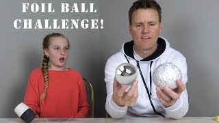 How to Make a Glass-Polished Aluminum Foil Ball!