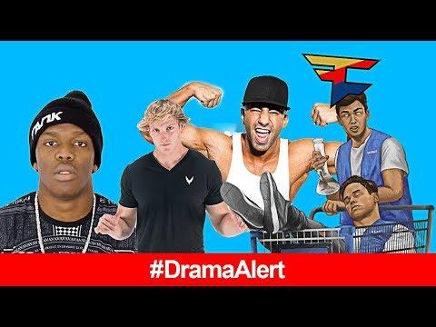 KSI vs Logan Paul FAKE? #DramaAlert FouseyTUBE MOCKS KSI, Nelk TERMINATED, FaZe Censor