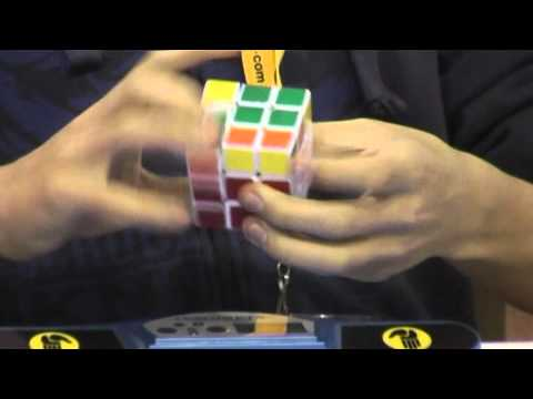 Rubik's cube former official world record average: 7.64 seconds Feliks Zemdegs
