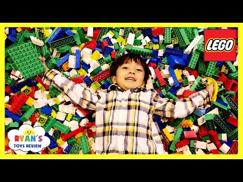 MILLIONS OF LEGO Giant Life Size Disney Cars LEGO KIDFEST Family Fun Children Activities Kids Toys