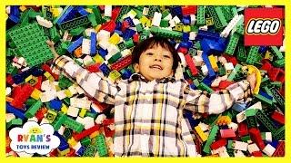 MILLIONS OF LEGO Giant Life Size Disney Cars LEGO KIDFEST Family Fun Children Activities Kids Toys