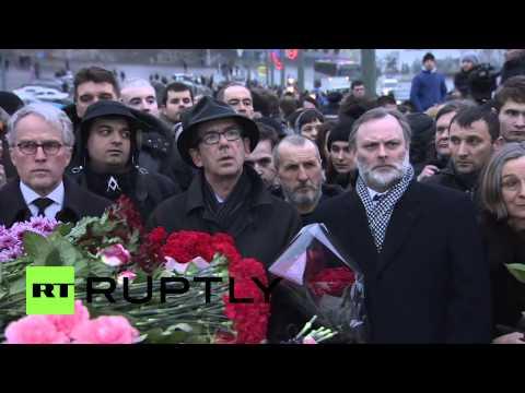 Russia: EU ambassadors pay respects to Boris Nemtsov