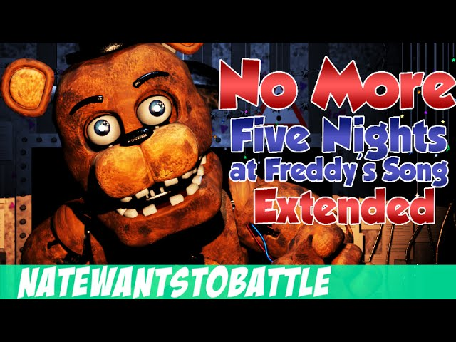Five nights at freddy s fnaf song by natewantstobattle extended