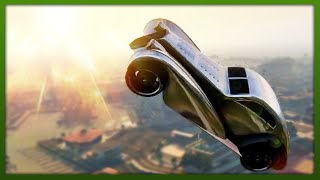 GTA 5 Stunts - Awesome Car & Bike Jumps! - (GTA 5 Top 10 Stunts)