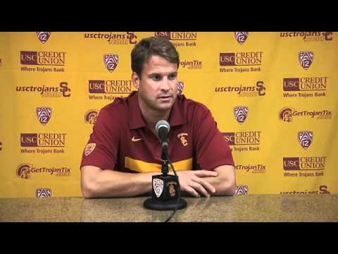 USC Football - Lane Kiffin Q&A Arizona State