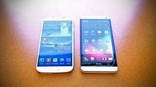 Samsung Galaxy S4 vs HTC One (Comparison Video)