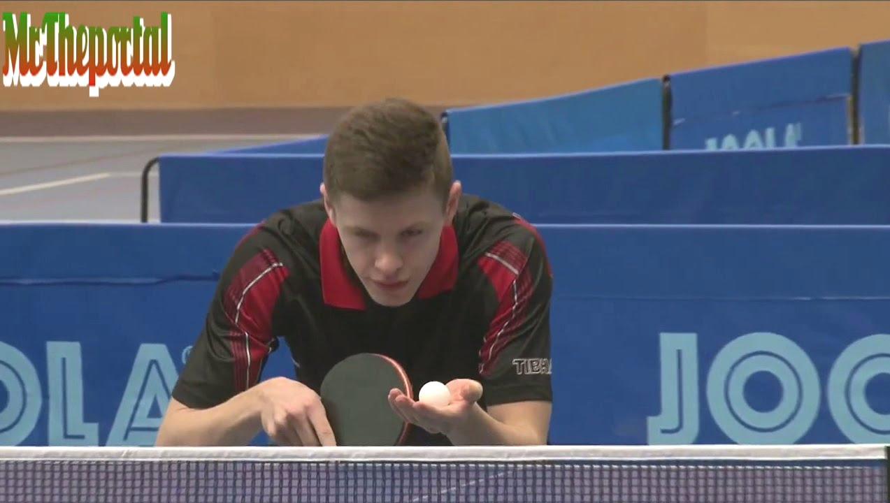 Table Tennis Czech Junior Championships 2016 - Tomas Polansky Vs Jiri Martinko -