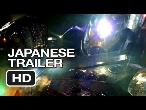 Pacific Rim Official Japanese Trailer (2013) - Guillermo del Toro Movie HD