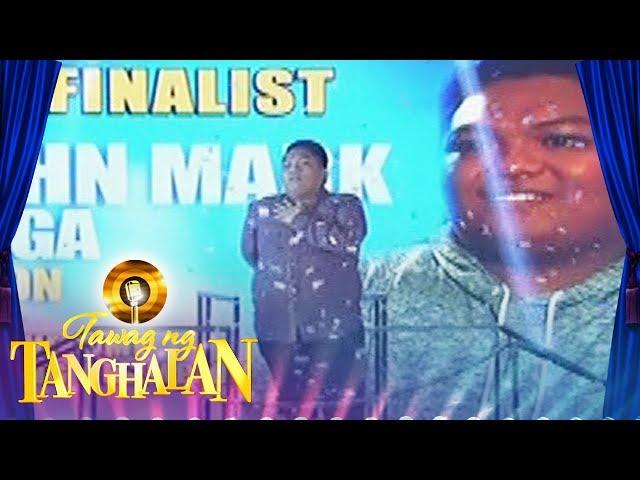 Tawag Ng Tanghalan: John Mark Saga gets into the semi finals