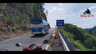 Đèo Khánh Lê - Khúc Cua Tử Thần - Ở độ Cao 500m