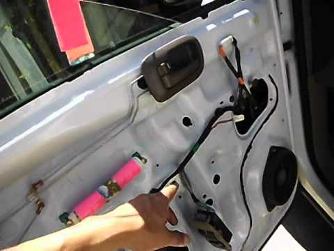 Service manual how to replace a toyota sienna sliding door for 2001 corolla window motor replacement