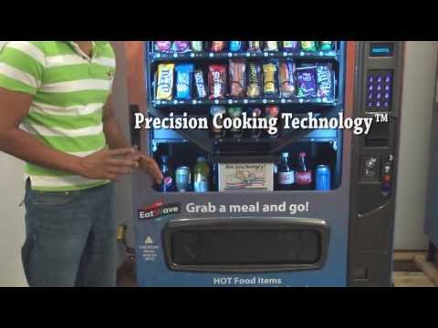 EatWave Hot & Cold Food Vending Machine