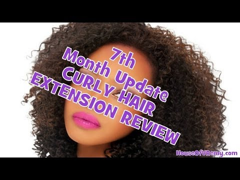 7th Month Update KINKY CURLY MALAYSIAN HAIR