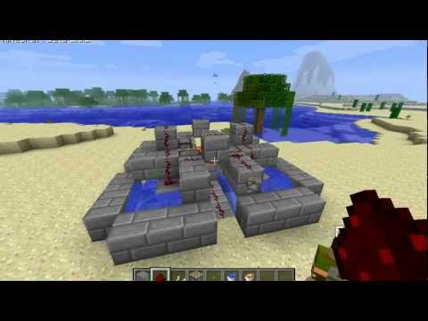 Minecraft 1.4.6 : Automatic Obsidian Generator (Works on XBOX)