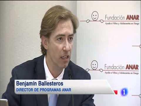 Aumento De La Violencia Hacia Menores De Edad En España - Informe Anar 2013 - Telediario 1 En Tve video