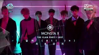 "Live HD | 160519 MONSTA X ""걸어 (All in)"" (Comeback Stage) @ MNET 엠! 카운트다운"