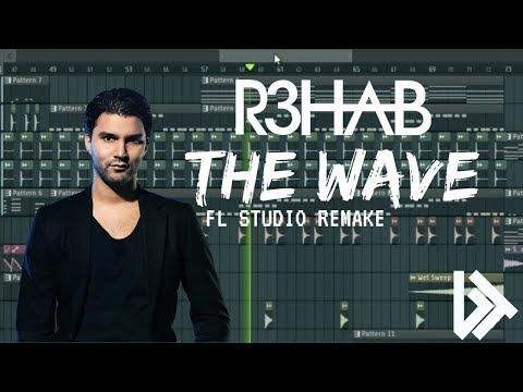 R3HAB x Lia Marie Johnson - The Wave (INSTRUMENTAL REMAKE + FLP) #1