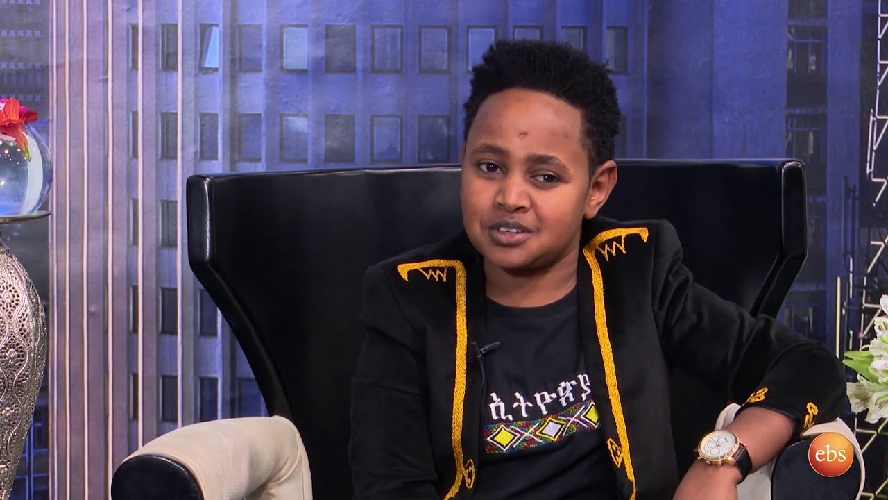 Ethiopia Famous Singer Dawit Alemayehu  Interview with Sunday with EBS