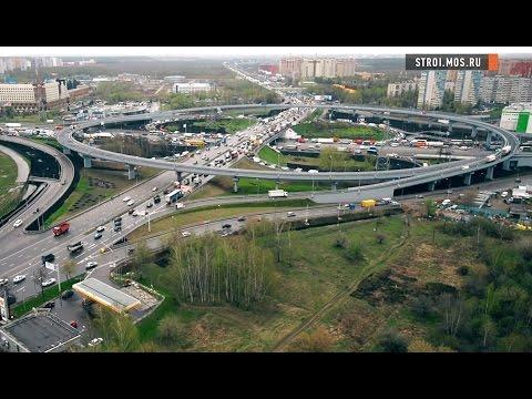 Развязка МКАД-Каширское шоссе поехала