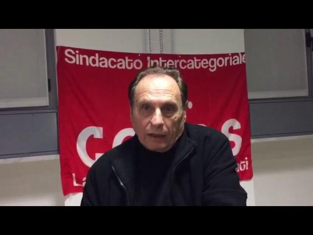 30/01/2017 - Dichiarazione di Aldo Milani