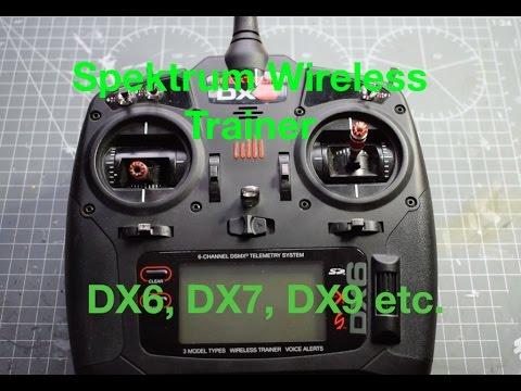Spektrum DX6 Wireless Trainer Tutorial