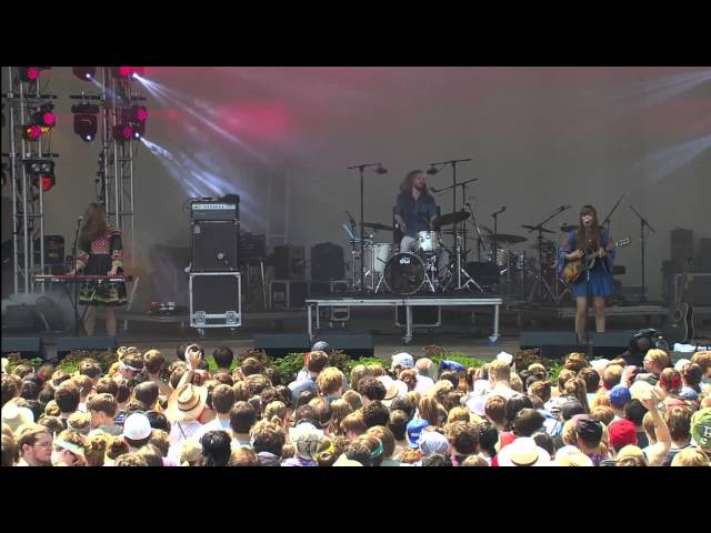 First Aid Kit - The Lion's Roar (Live from Lollapalooza 2012)