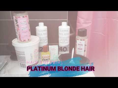I BLEACHED MY HAIR PLATINUM BLONDE!!! (STEP BY STEP)
