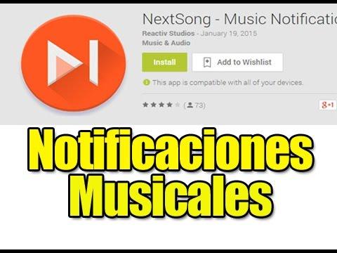 Android APP: Excelente complemento para el reproductor de música - NextSong Pro