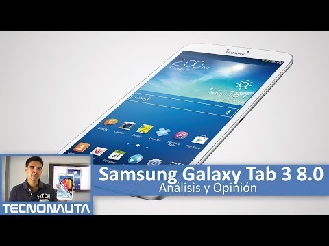 Samsung Galaxy Tab 3 8.0 Review (en Español)