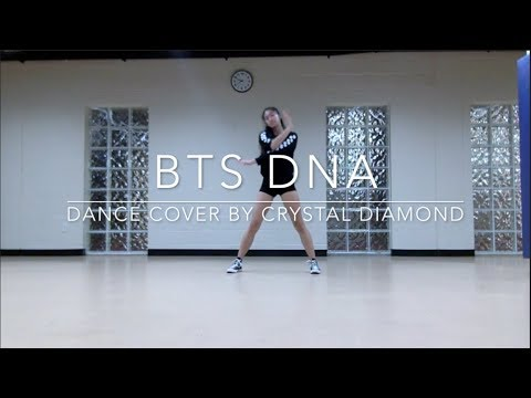 BTS DNA — dance chorus practice by crystal diamond
