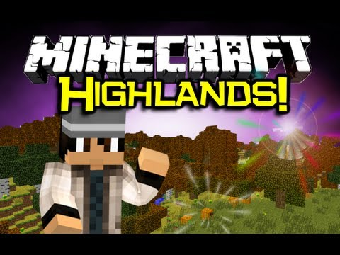 Minecraft - HIGHLANDS MOD Spotlight - STUNNING World Generation (Minecraft Mod Showcase)