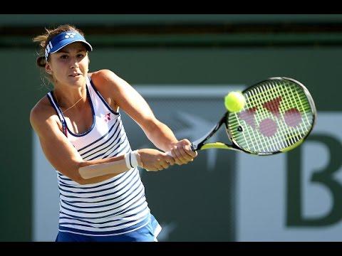 2015 BNP Paribas Open Day 6 WTA Highlights