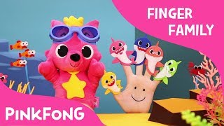 Shark Finger Family | Finger Puppets | Pinkfong Plush | Pinkfong Songs for Children