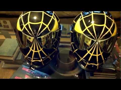 Icon Yellow Helmet Black And Yellow Helmets