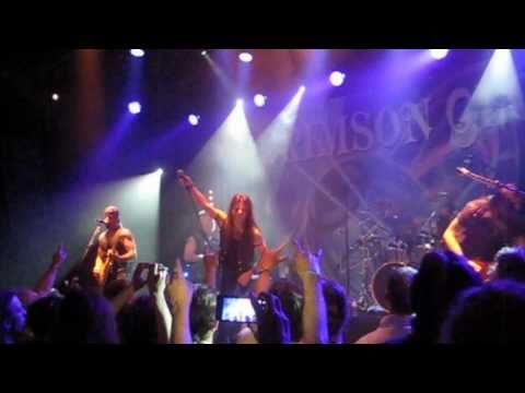Crimson Glory -Azrael live 2011 Boerderij,poppodium,zoetermeer