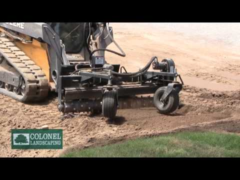 Hydraulic Soil Stabilization Waterford East Lyme Old Lyme CT | Colonel Landscaping