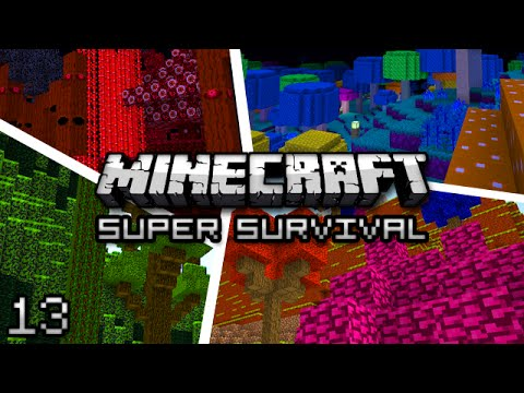 Minecraft: Super Modded Survival Ep. 13 - BALLING OUT OF CONTROL