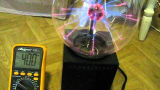 Plasma ball D.Smith research