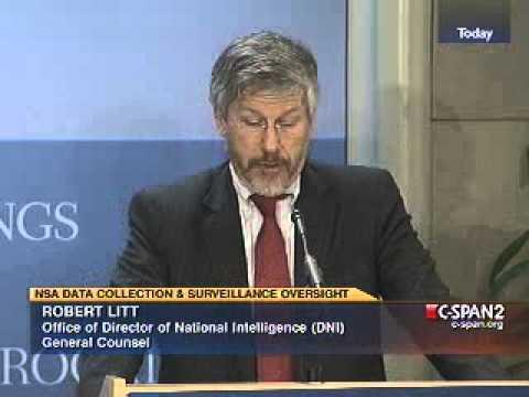 NSA Chief Counsel Lies Again
