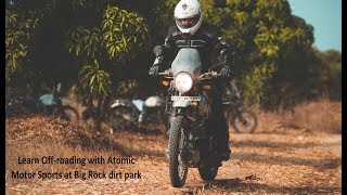 Learn off roading with Atomic Motor Sports at Big rock dirt park