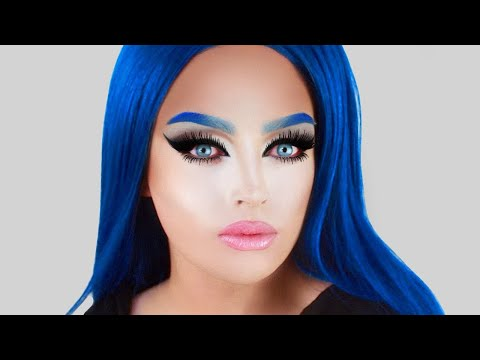 Tippi Hedren Inspired Makeup! Greyscale - Black and White Tutorial